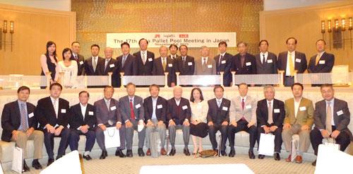 深圳市顺航通国际货运代理有限公司尹总、李总赴日本参加第17届APP ALLIANCE MEETING